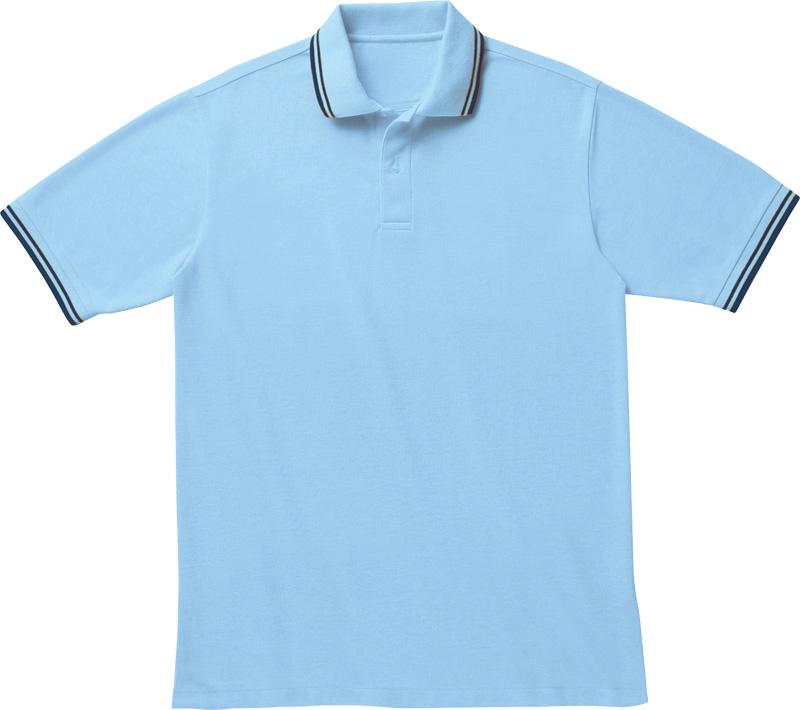 ASP-L45 スタイリッシュラインポロシャツの画像